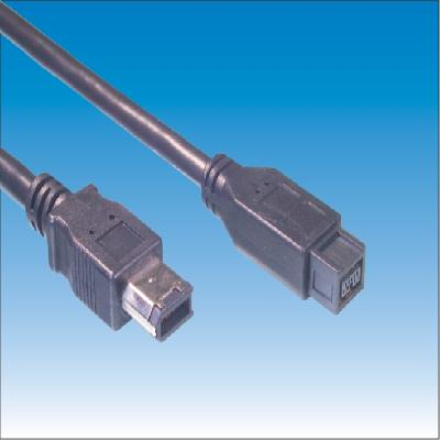 IEEE1394B 9P Male TO 6P Male Cable